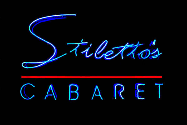 Lower Ninth Ward Photograph - Stiletto's Cabaret by Sennie Pierson