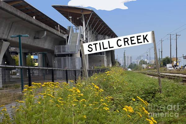 Photograph - Still Creek by Bill Thomson