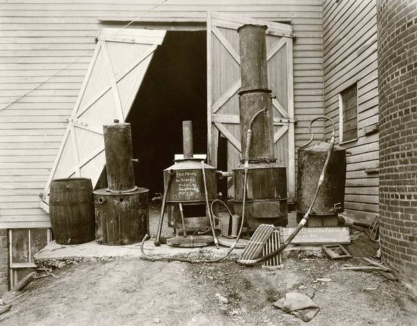 Wall Art - Photograph - Still From Prohibition Raid by Library Of Congress/science Photo Library