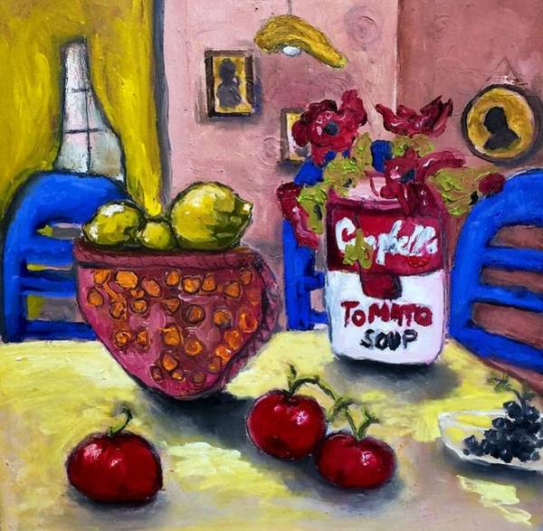 Painting - Still Life At Grandma's IIi by Dilip Sheth