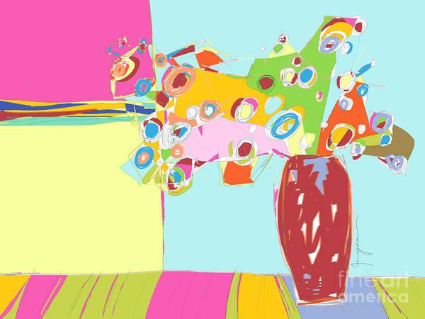 Digital Art - Still Life Floral by Patricia Awapara
