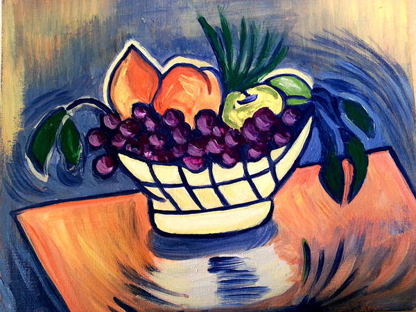 Painting - Still Life Fruit by Nikki Dalton