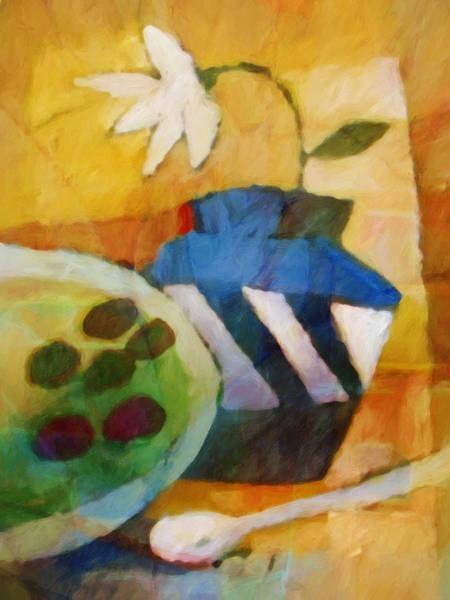 Terracotta Painting - Still Life Impression by Lutz Baar