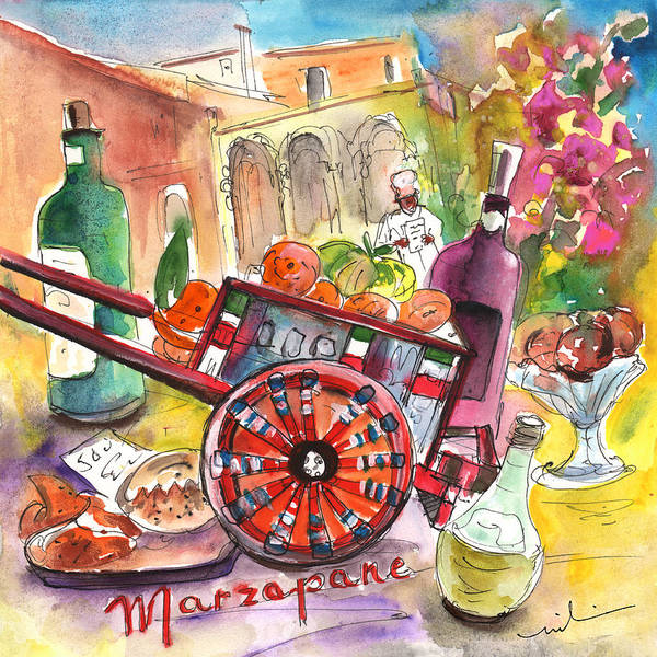 Painting - Still Life In Taormina 02 by Miki De Goodaboom