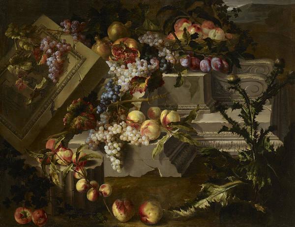 Wall Art - Painting - Still Life by Jean-Baptiste Monnoyer