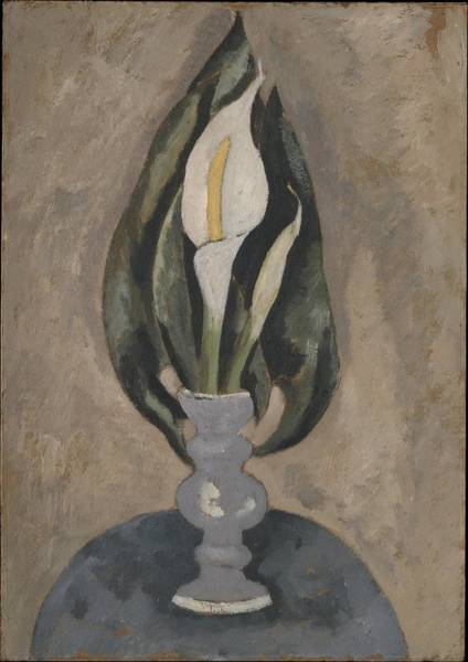 Central America Painting - Still Life No. 16 by Marsden Hartley