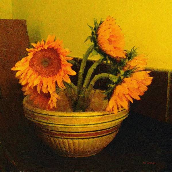 Painting - Still Life September by RC DeWinter