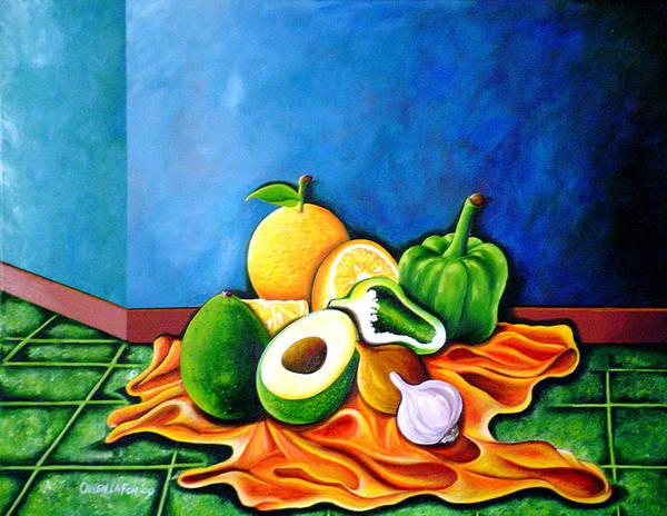 Painting - Still Life Study by Owen Lafon