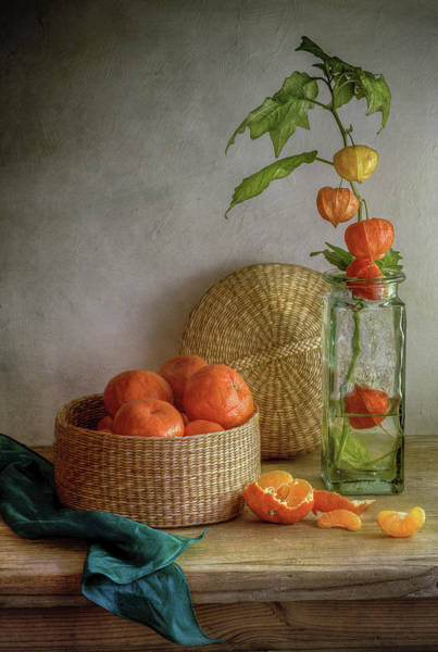 Peel Photograph - Still Life With Clementines by Mandy Disher