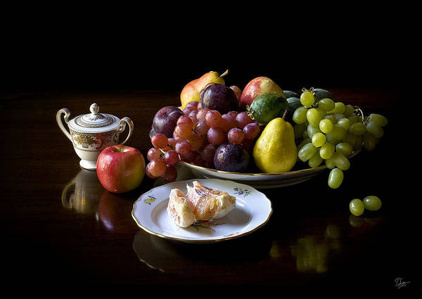 Photograph - Still Life With Fruit by Endre Balogh