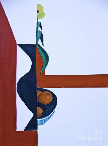Painting - Still Life With Glass And Mirrors by James Lavott