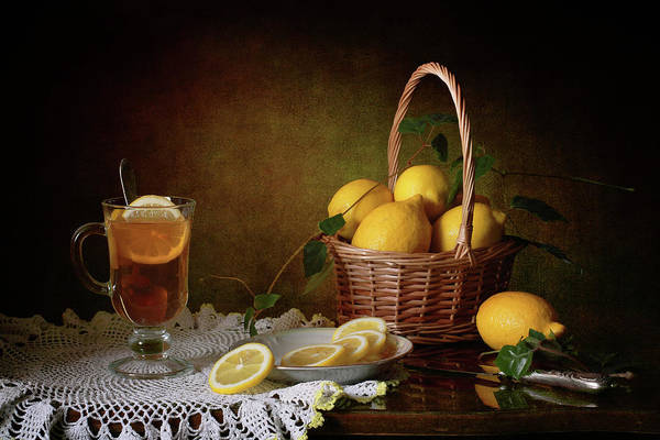 Wall Art - Photograph - Still Life With Lemons by ??????? ????????