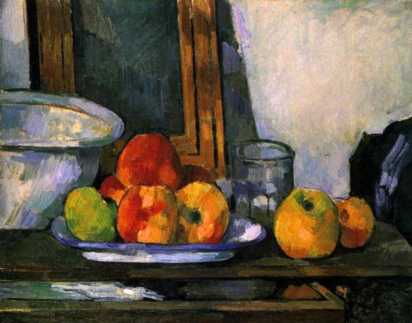 Drawers Painting - Still Life With Open Drawer by Paul Cezanne