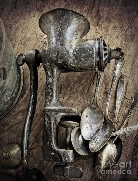 Photograph - Still Life With Silverware by Elena Nosyreva