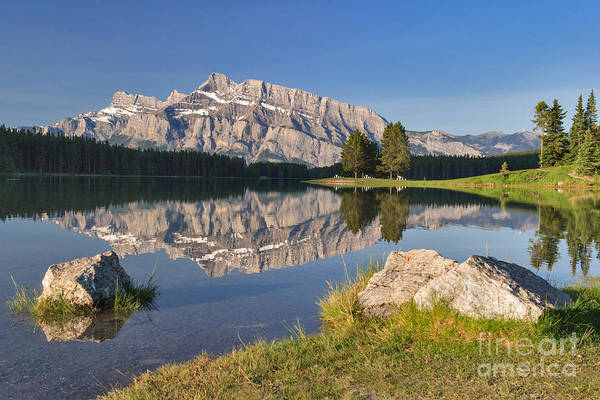 Photograph - Still Morning On Two Jack Lake by Charles Kozierok