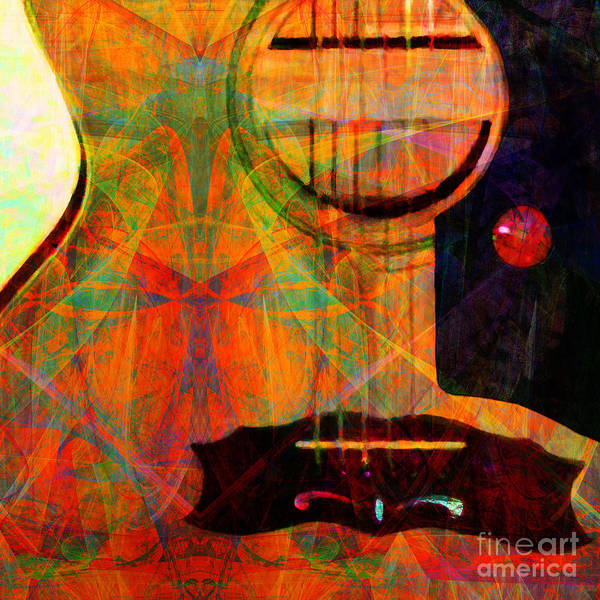 Photograph - Still My Guitar Gently Weeps 20140715 Square by Wingsdomain Art and Photography