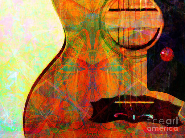 Photograph - Still My Guitar Gently Weeps 20140715 by Wingsdomain Art and Photography
