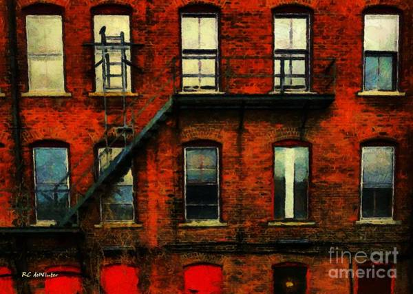 Painting - Still Standing by RC DeWinter