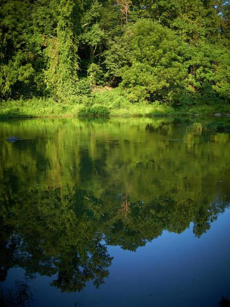 Bethesda Photograph - Still Water On The Potomac River by Cameron Davidson