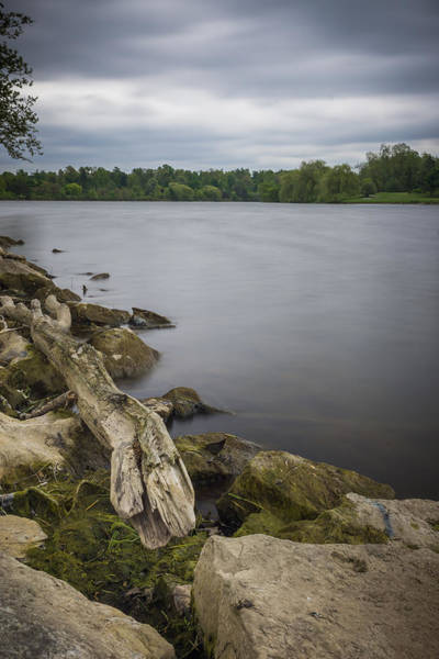 Photograph - Still Waters Under A Grey Sky by Chris Bordeleau