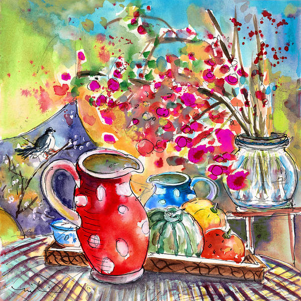 Painting - Still Life In Bergamo 01 by Miki De Goodaboom