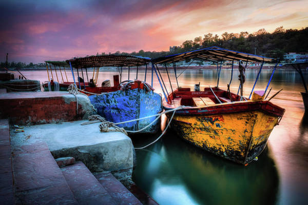 Ganges River Photograph - Stillness by Neeraj Murali