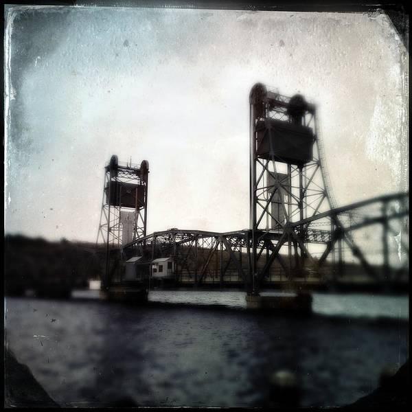 Photograph - Stillwater Lift Bridge Operators House by Tim Nyberg