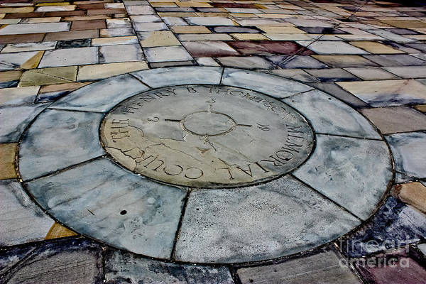 Wall Art - Photograph - Stone Compass by Colleen Kammerer