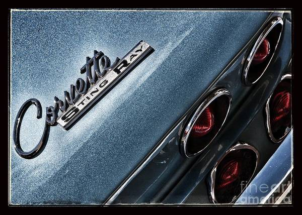 Chevrolet Corvette Photograph - Sting Ray by Susan See