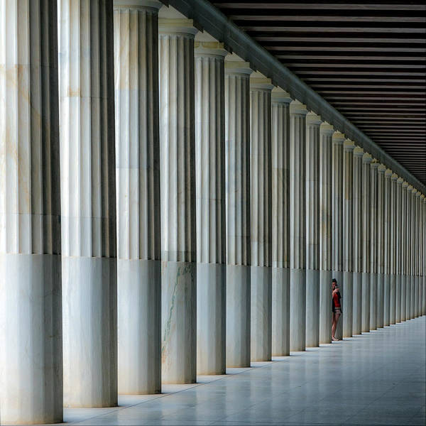 Wall Art - Photograph - Stoa Of Attalos by Vasilis Protopapas
