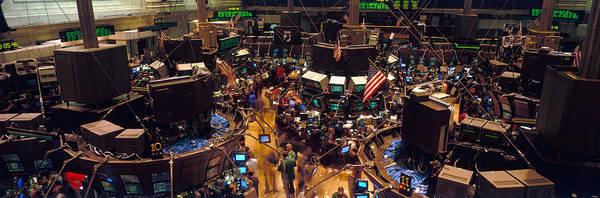 New York Stock Exchange Wall Art - Photograph - Stock Exchange, Nyc, New York City, New by Panoramic Images