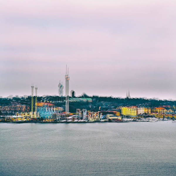 Boat Ride Wall Art - Photograph - Stockholm Double Exposure by Stelios Kleanthous