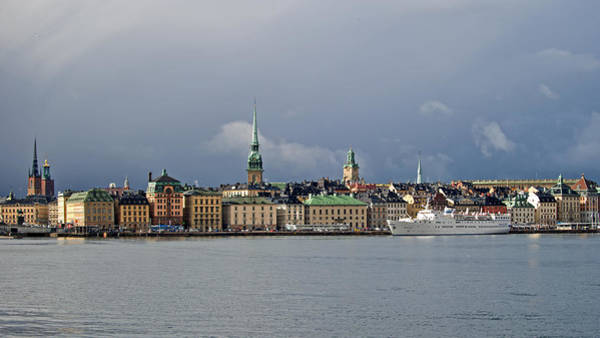 Photograph - Stockholm Old Town by Torbjorn Swenelius