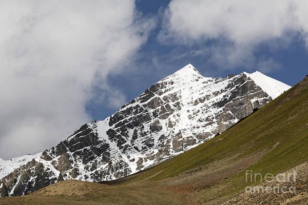 Northern India Photograph - Stok Kangri Mountain Ladakh by Robert Preston