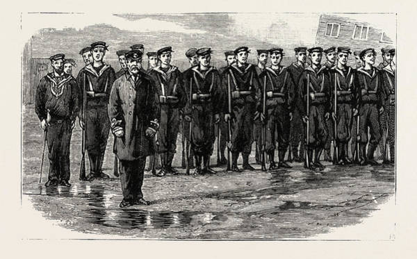 Wall Art - Drawing - Stokers For The British Navy, Training-class-learning by English School