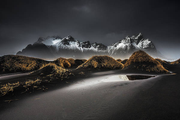 Mountain Peak Wall Art - Photograph - Stokksnes | Iceland by Benoit Malaussena