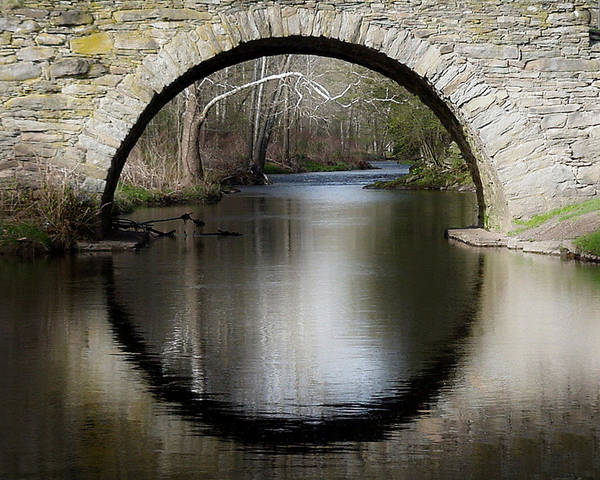 Wall Art - Photograph - Stone Arch Bridge by Ericamaxine Price