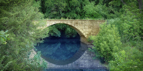 Photograph - Stone Arch Bridge In Butler County by Rod Seel