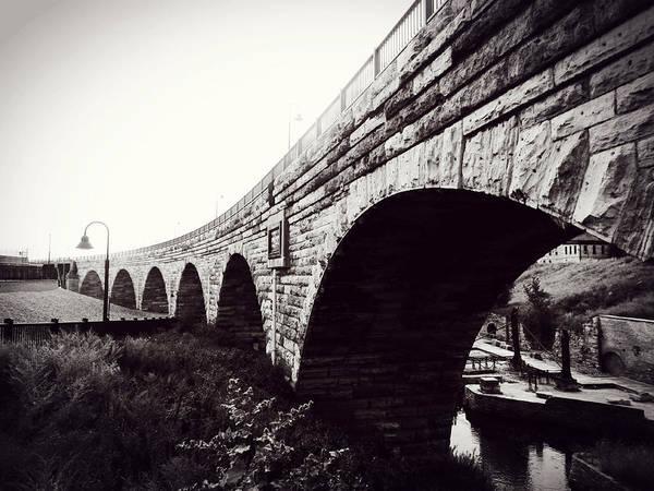 Stone Arch Bridge Art Print