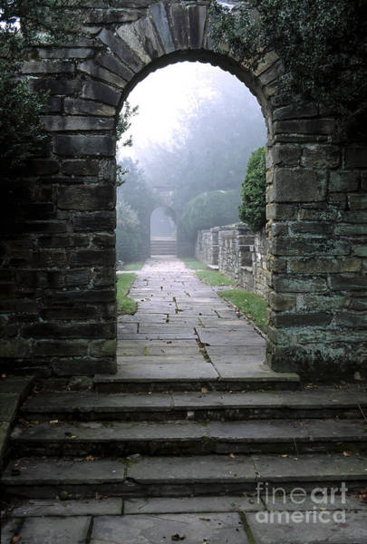 Wall Art - Photograph - Stone Arch In The Fog by William Kuta