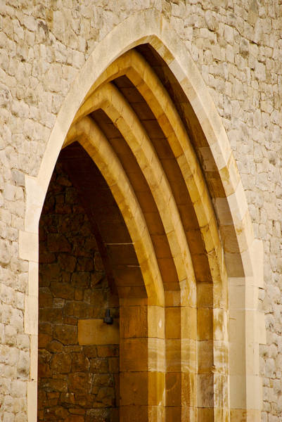 Photograph - Stone Archway At Tower Hill by Christi Kraft