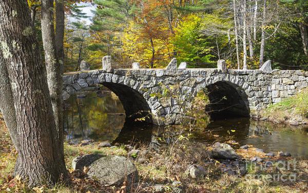 Photograph - Stone Bridge - Hillsborough New Hampshire Usa by Erin Paul Donovan
