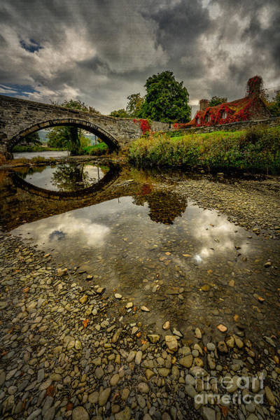 Stone Wall Art - Photograph - Stone Bridge by Adrian Evans
