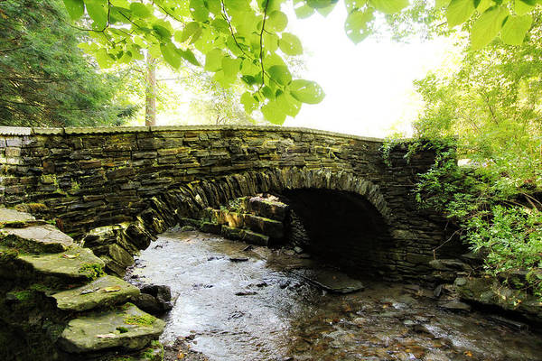 Photograph - Stone Bridge II by Trina  Ansel