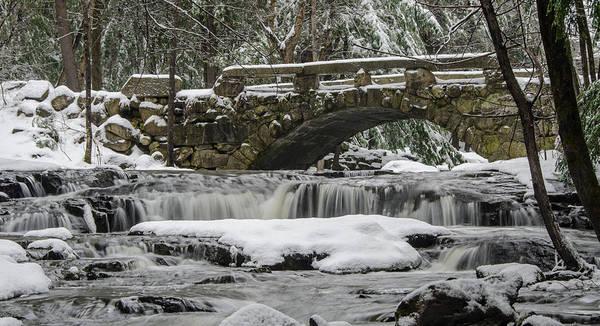 Photograph - Stone Bridge In Hobbit Land   7d08875 by Guy Whiteley