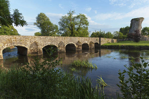 Suir Photograph - Stone Bridge Over River Suir_ County by Carl Bruemmer