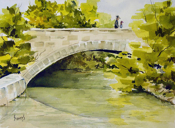 Painting - Stone Bridge by Sam Sidders