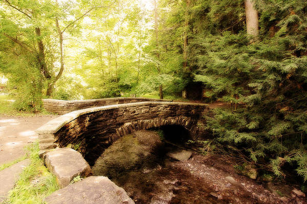 Photograph - Stone Bridge  by Trina  Ansel