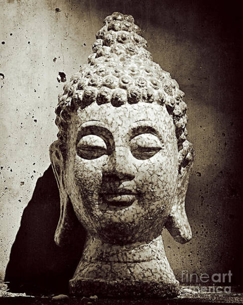 Photograph - Stone Buddha by Kate McKenna