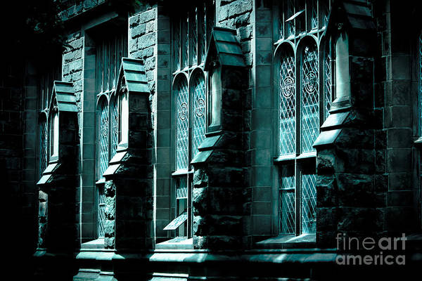 Wall Art - Photograph - Stone Building In Blue by Colleen Kammerer